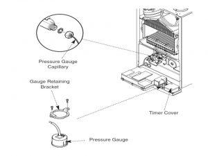 pressure gauge 71
