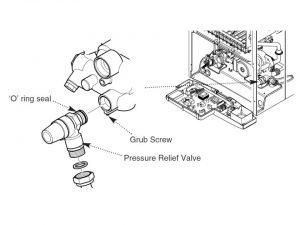 pressure relief valve 78