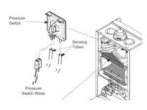 pressure switch 57